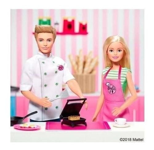 barbie ken chef cocina muñeca café mattel original