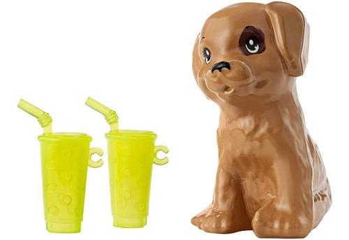 barbie - ken y barbie con el cachorro y sus accesorios