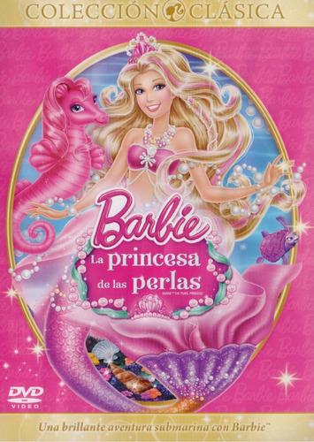 barbie la princesa de las perlas pearl princess pelicula dvd