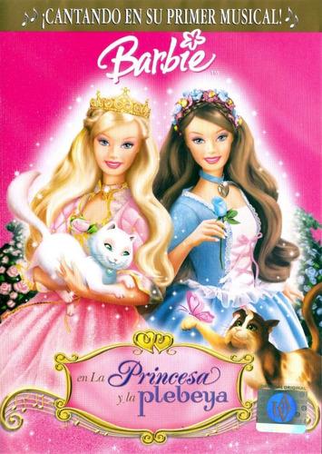 barbie - la princesa y la plebeya - dvd original usado
