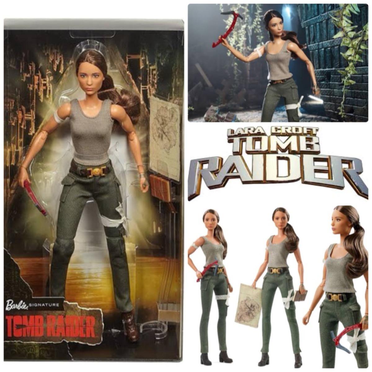 66691c5154 Barbie Lara Croft Tomb Raider Original Pronta Entrega - R$ 325,70 em ...
