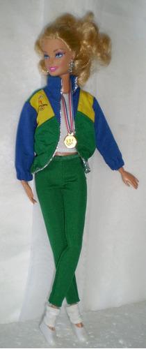 barbie lote de roupas, olimpiadas - n-384