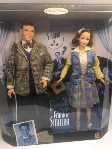 barbie loves frank sinatra collector 1999