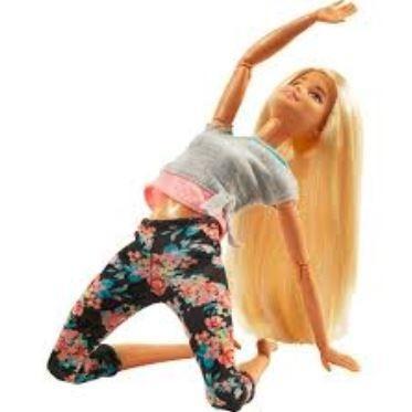 barbie made to move articulada feita pra mexer loira mattel