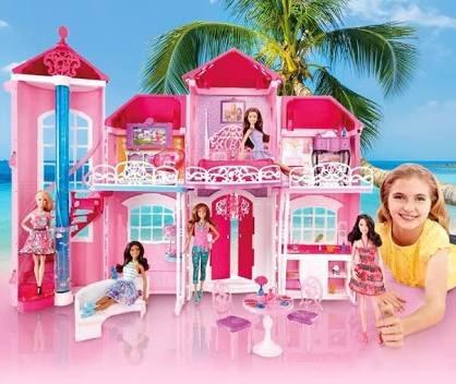 Barbie mansion de malib casa de barbie malibu house c envio 2 en mercado libre - La casa de barbie de juguete ...