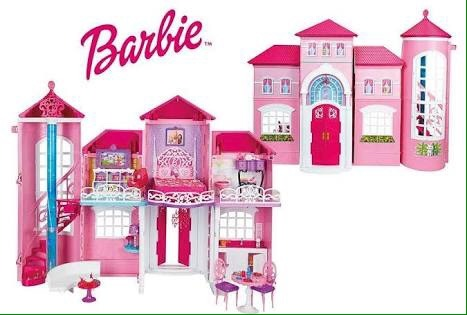Barbie mansion de malib casa de barbie malibu house c for Barbie casa malibu