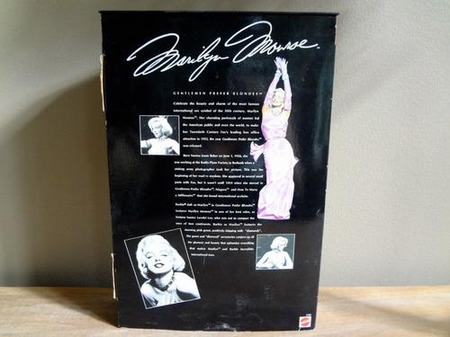 barbie marilyn monroe - os homens preferem as loiras 1997