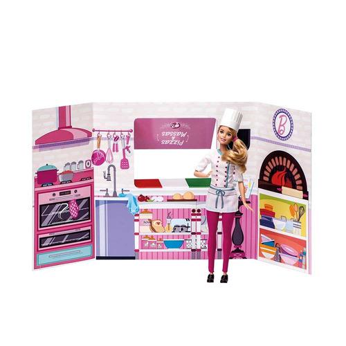 barbie massinha food truck cantina e pizzas - fun