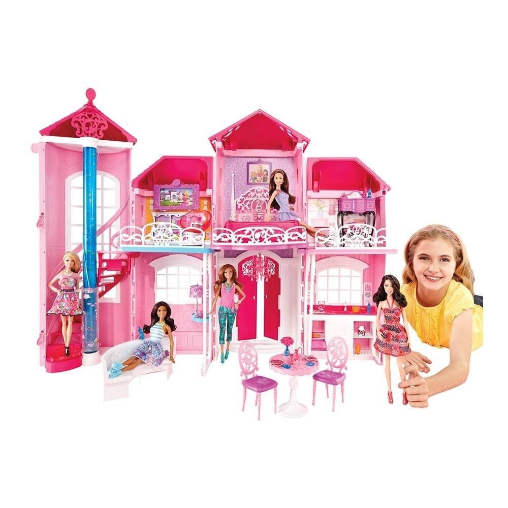 barbie mattel mansi n malib casa de la barbie juguetes