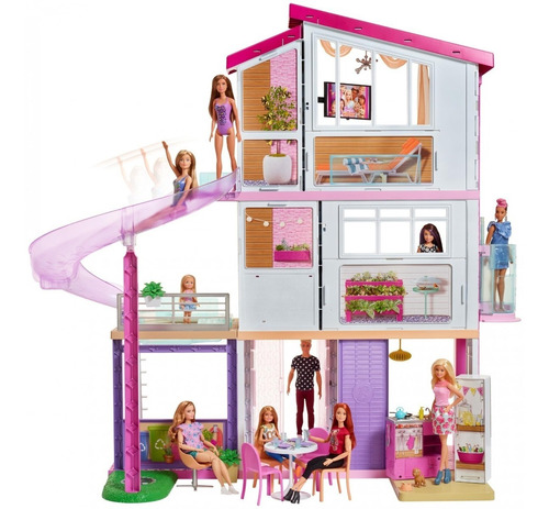 barbie mega casa de muñecas de los sueños mansión dreamhouse