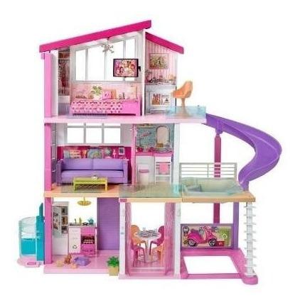 barbie mega casa muñecas sueños 70 pz mansion dream house