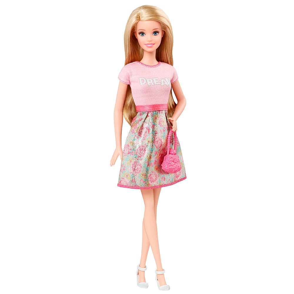 Barbie fashionistas mu eca barbie pink dream top y falda d - Image de barbie ...