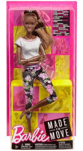barbie- muñeca movimientos divertidos- ftg80