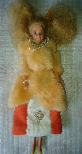 barbie muñeca original mattel del año 66