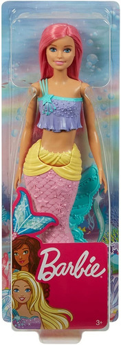 barbie muñeca sirena mattel fjc92 dreamtopia