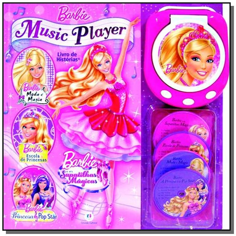 Barbie Music Player - Livro De Historias