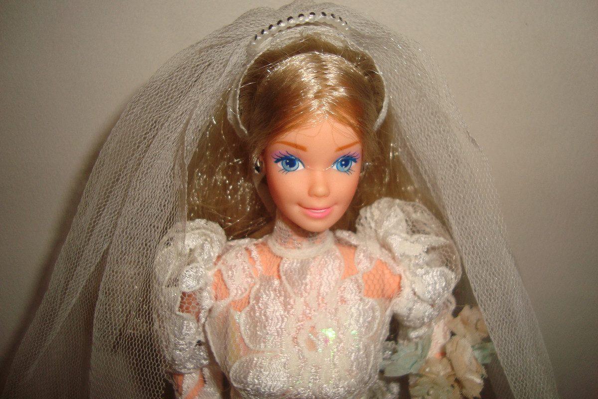 Barbie Noiva ~ Barbie Noiva Antiga,estrela Mattel,made In Brazil,c1966 R$ 1 200,00 em Mercado Livre