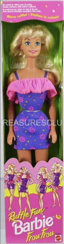 barbie olanes divertidos, ruffle fun
