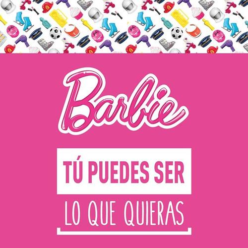 barbie on the go muñeca pink fashion doll fhv55-fhv73