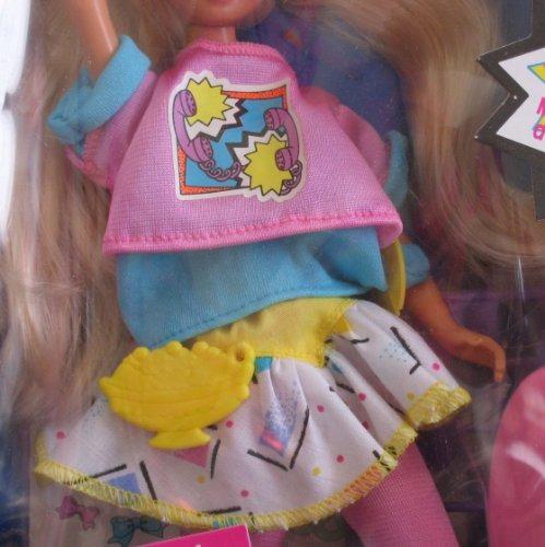 barbie original cool tops skipper muñeca w hierro sobre etiq