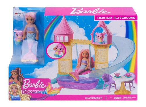 barbie parque de sirenas