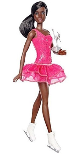 barbie patinadora profesional mattel dvf50 muñeca juguete