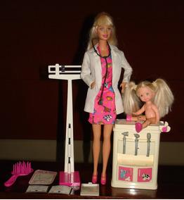 Pediatra Kelly Mattel Con Accesorios Barbie Y Articulada v80wnyOmN