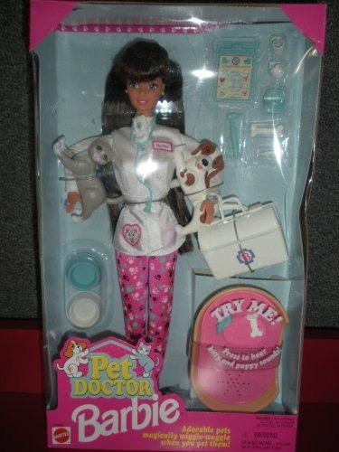 barbie pet doctor doll morena