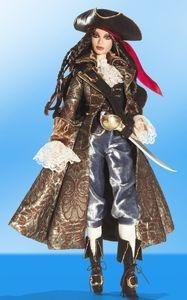 barbie pirate gold label  -   edição limitada - barbie rara