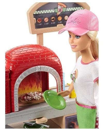 barbie playset chef de pizza con accesorios 2018