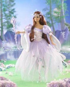 barbie princesa hada teresa lago de los cisnes d coleccion