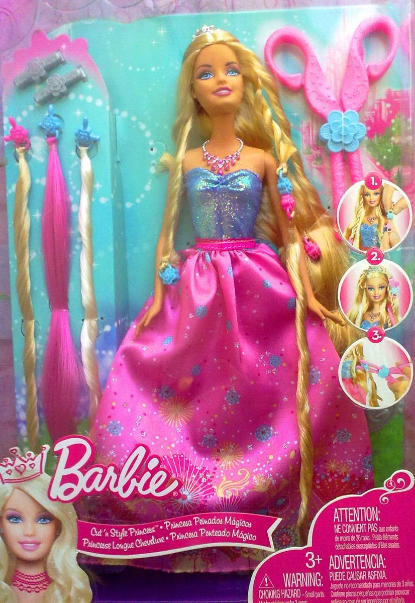 De moda barbie peinados magicos Imagen de cortes de pelo consejos - Barbie Princesa Peinados Magicos - $ 1,710.00 en Mercado Libre