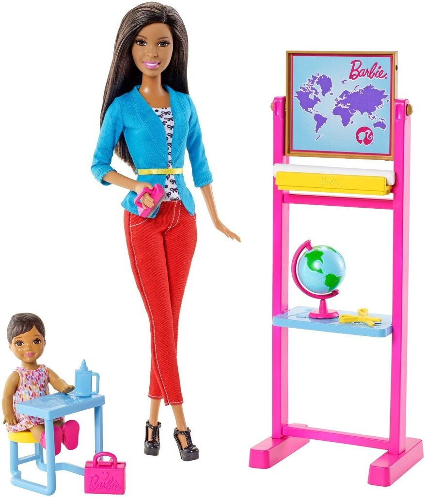 ba64a4a9310 Barbie Profesiones Set Profesora Con Nikki -   100.000.000 en ...