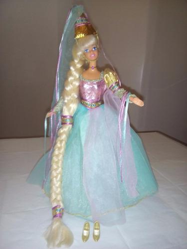 barbie rapunzel 1994 de coleccion primera edicion