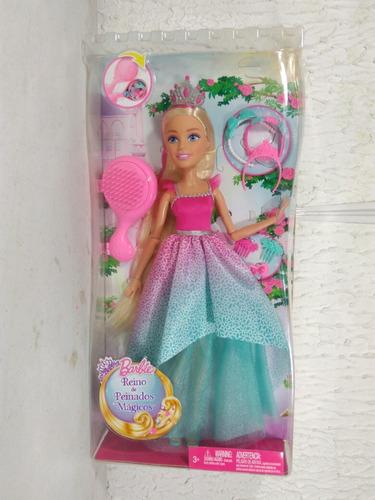 Sorprendentemente fácil barbie peinados magicos Galería de cortes de pelo tutoriales - Barbie Reino De Peinados Magicos Mi Gran Princesa - $ 600 ...