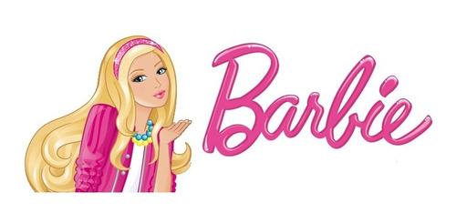 barbie - relógio digital de pulso infantil - original  (b 3)