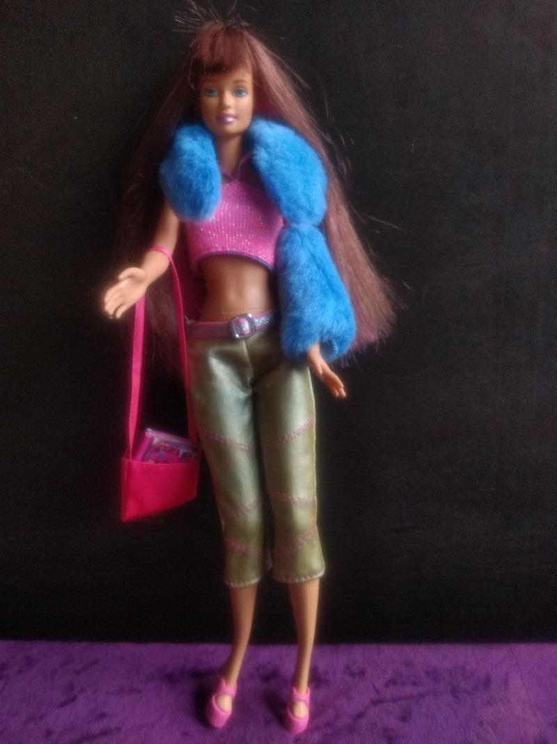 Barbie Rock Star Raridade Anos 90 Com Roupa Original