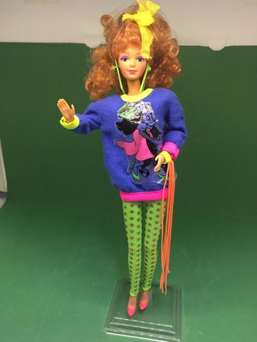 barbie rockers 1986 roqueira mattel antiga 80 diva amiga
