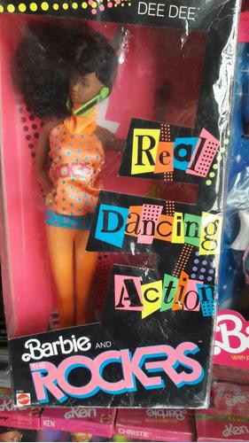 barbie. rockers. african dee dee