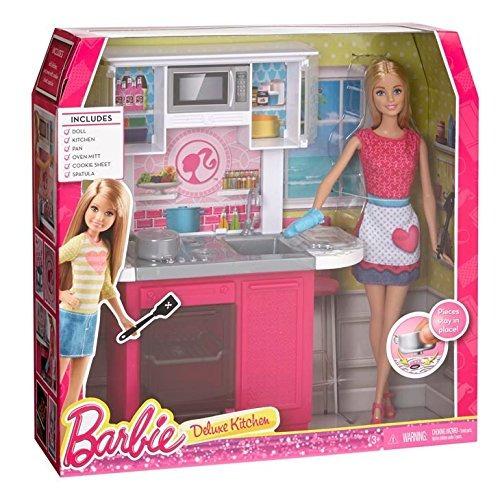 Barbie Set De Muebles De Cocina - $ 100.000.000 en Mercado Libre