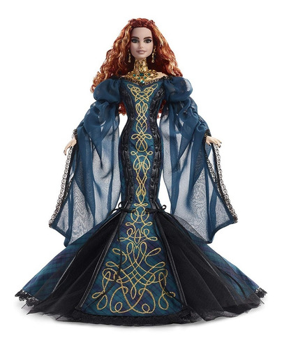 barbie sorcha global glamour gold label signature collector