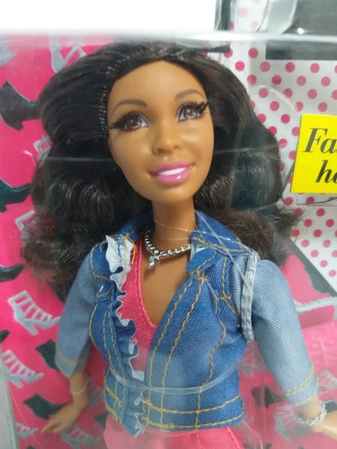 barbie style luxo nikki negra dois pares de sapato 2015