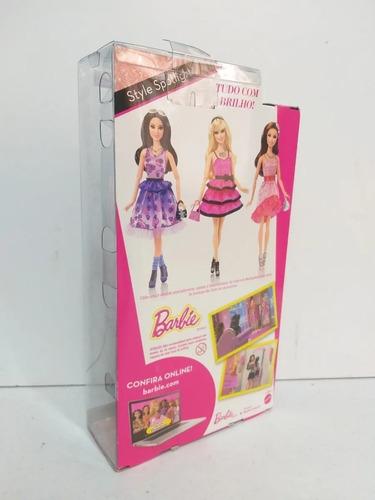 barbie style spotlight teresa vestido coral