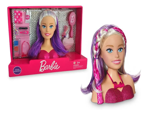 barbie styling face +3 anos maqueie a barbie