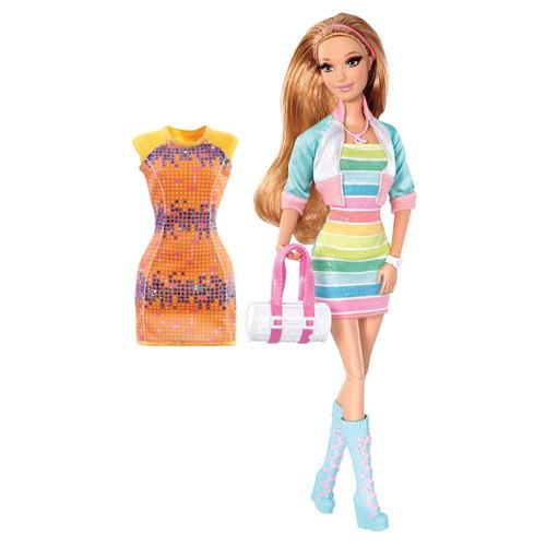 barbie summer dreamhouse com cílios articulada original