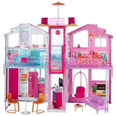 Barbie super casa de 3 andares casa de campo mattel r - Supercasa de barbie ...