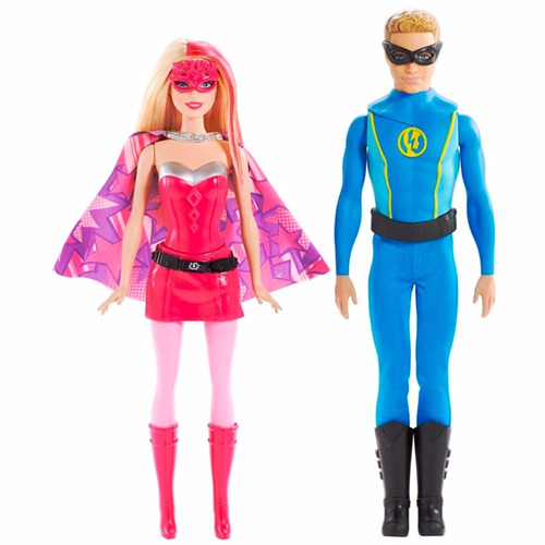 barbie super princesa casal  - mattel