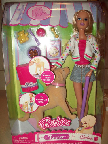 barbie tanner playset - barbie y su perro mascota