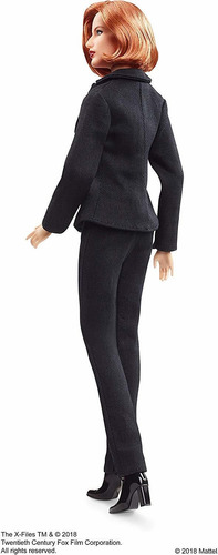 barbie the x-files agent dana scully doll