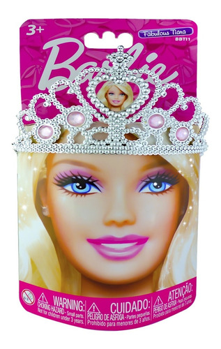barbie tiara de princesa - intek